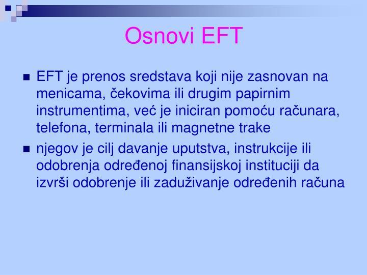 Osnovi EFT
