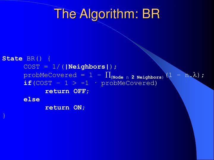 The Algorithm: BR