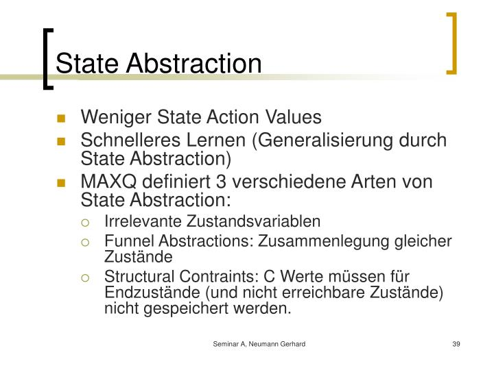 State Abstraction