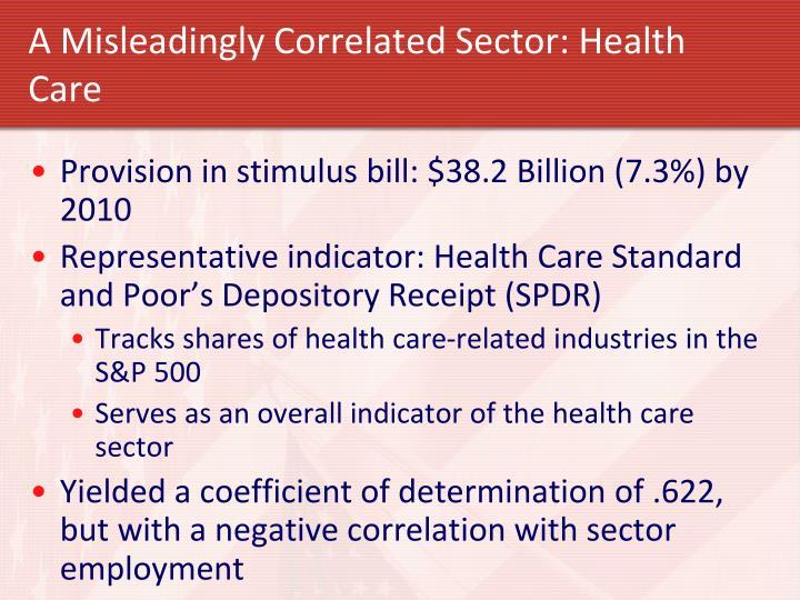 A Misleadingly Correlated Sector: Health Care