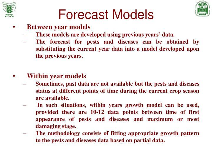 Forecast Models