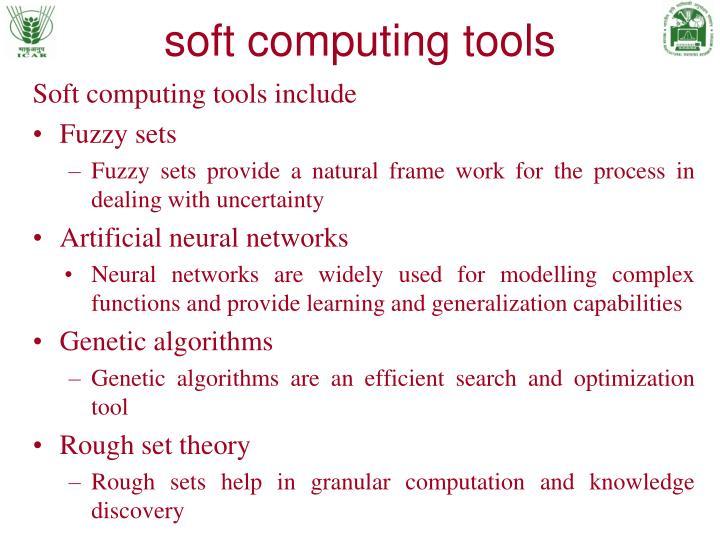 soft computing tools