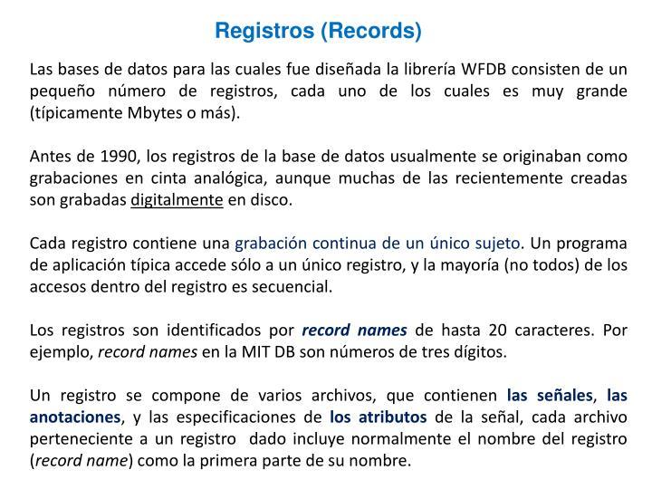 Registros (Records)