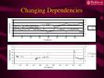 changing dependencies