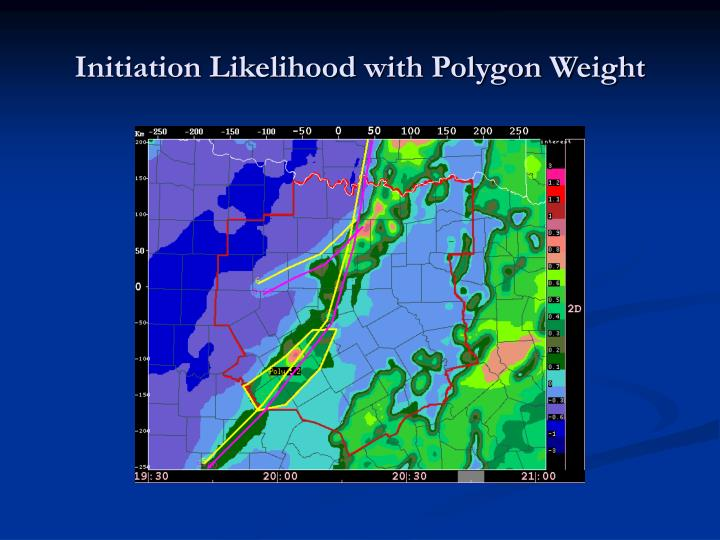 Initiation Likelihood with Polygon Weight