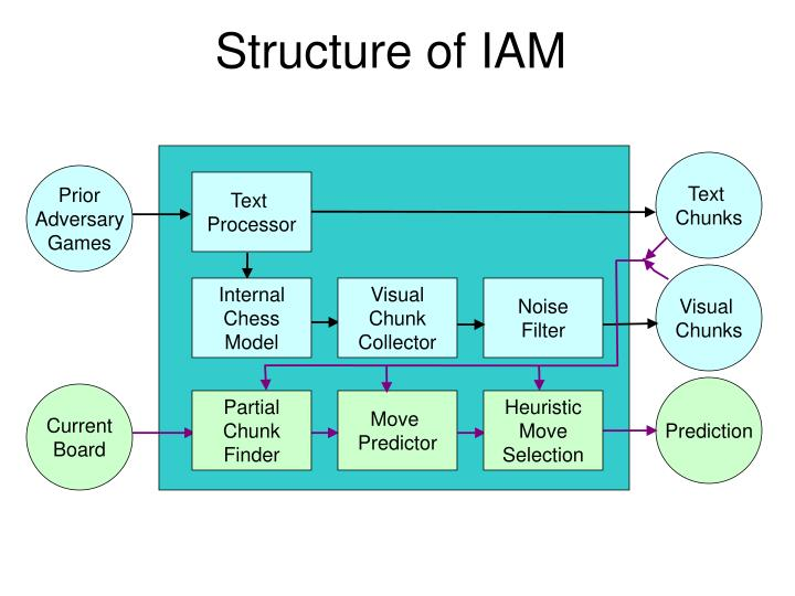 Structure of IAM
