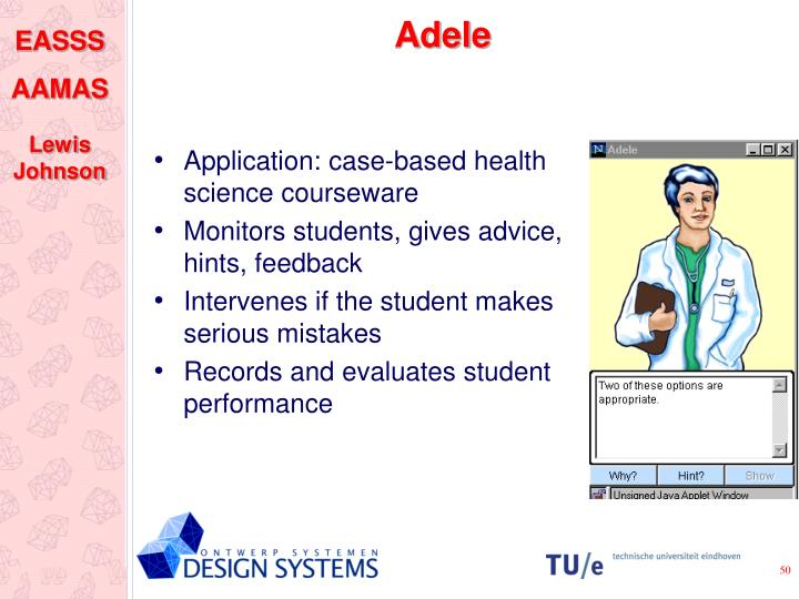 Application: case-based health science courseware