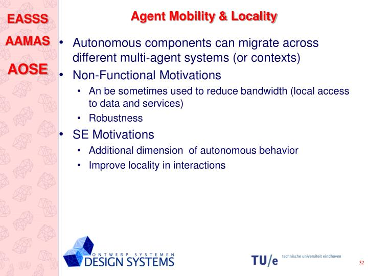 Agent Mobility & Locality