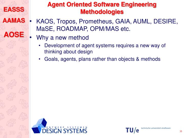 Agent Oriented Software Engineering Methodologies