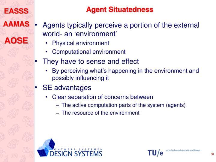 Agent Situatedness
