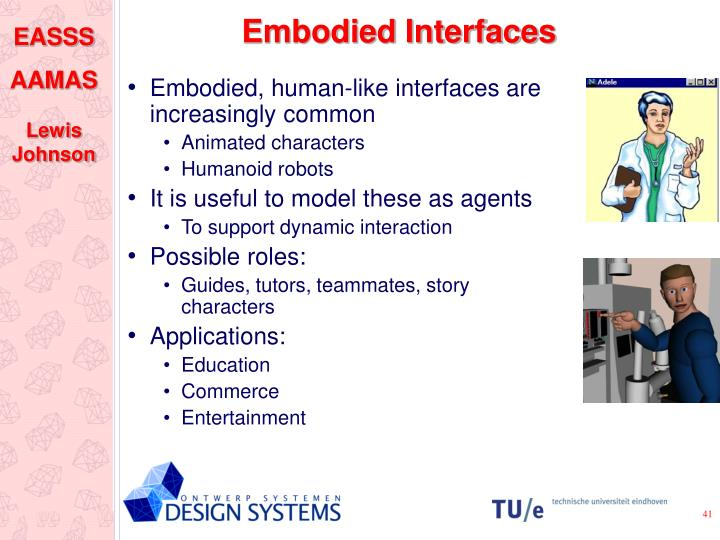 Embodied Interfaces