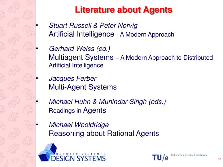 Literature about Agents