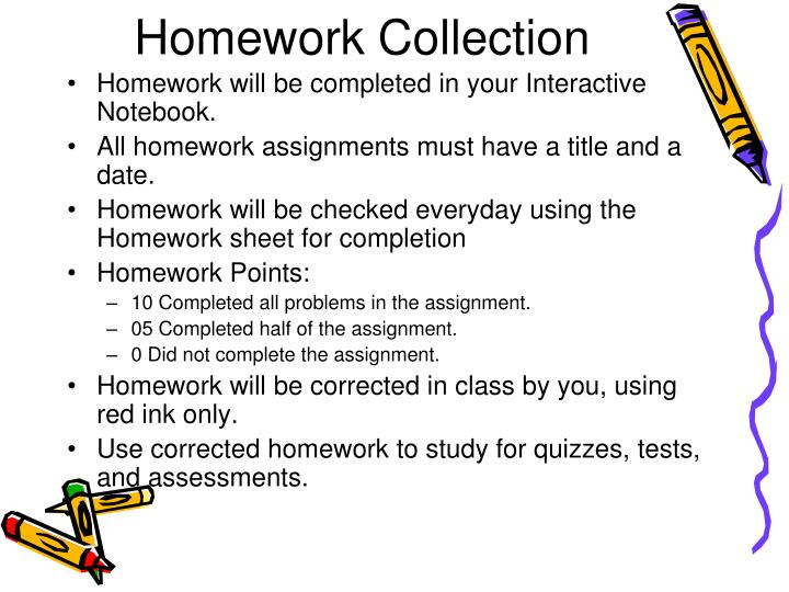 Homework Collection