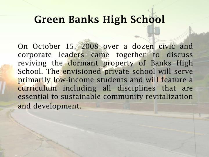 Green Banks High School