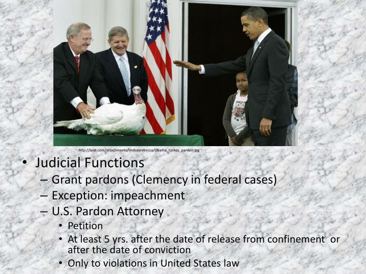 Judicial Functions