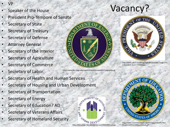 Vacancy?