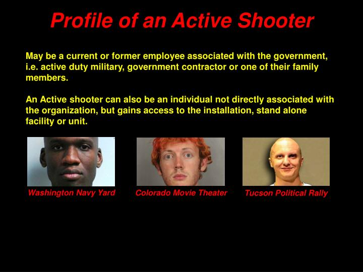 Profile of an Active Shooter