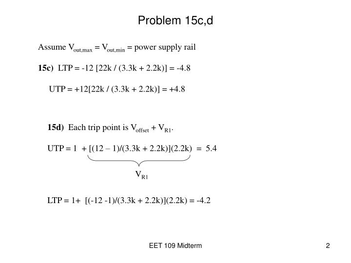 Problem 15c,d
