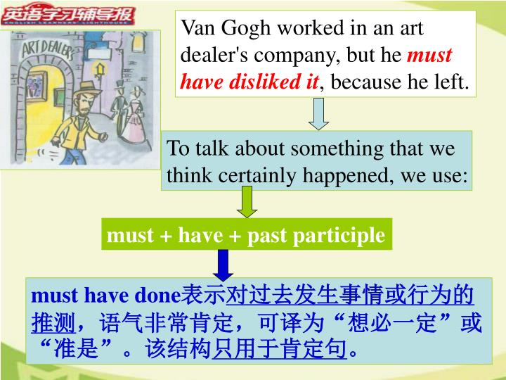 Van Gogh worked in an art dealer's company, but he