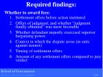 required findings1