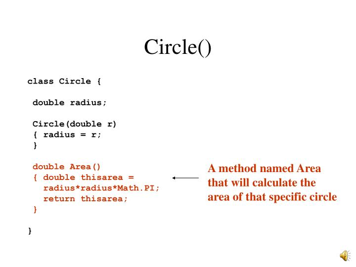 Circle()