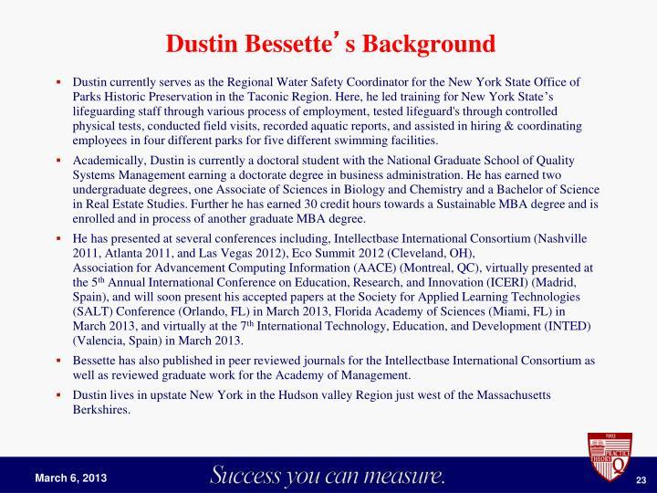 Dustin Bessette
