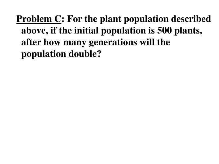 Problem C