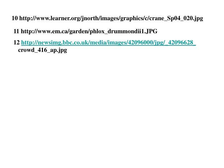 10 http://www.learner.org/jnorth/images/graphics/c/crane_Sp04_020.jpg