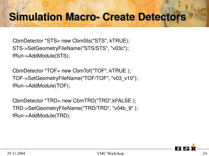 "CbmDetector *STS= new CbmSts(""STS"", kTRUE);"