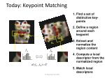 today keypoint matching