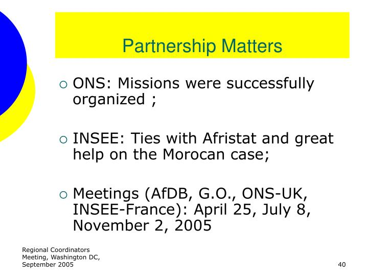 Partnership Matters