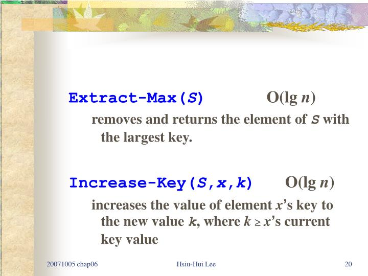 Extract-Max(