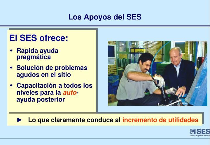 El SES ofrece: