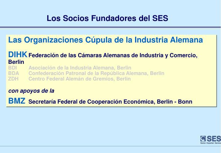 Los Socios Fundadores del SES