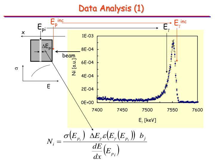 Data Analysis (1)