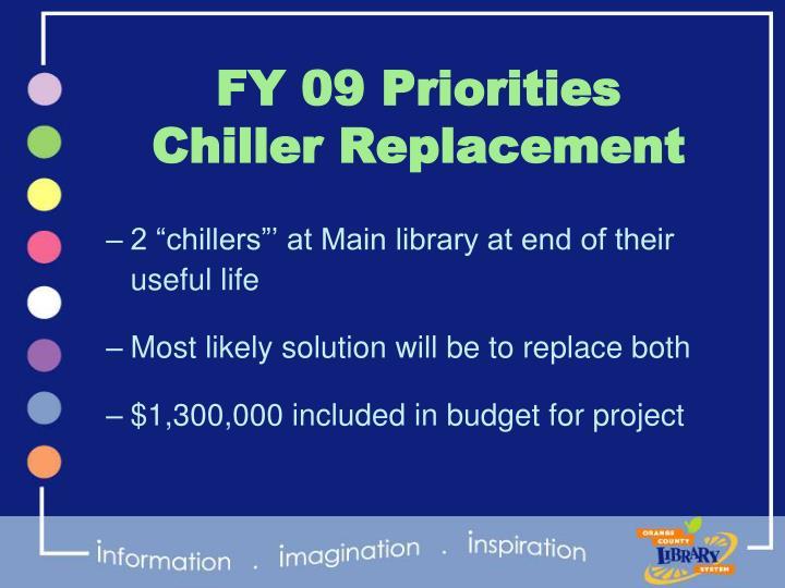 FY 09 Priorities