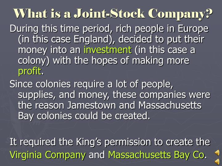 What is a Joint-Stock Company?