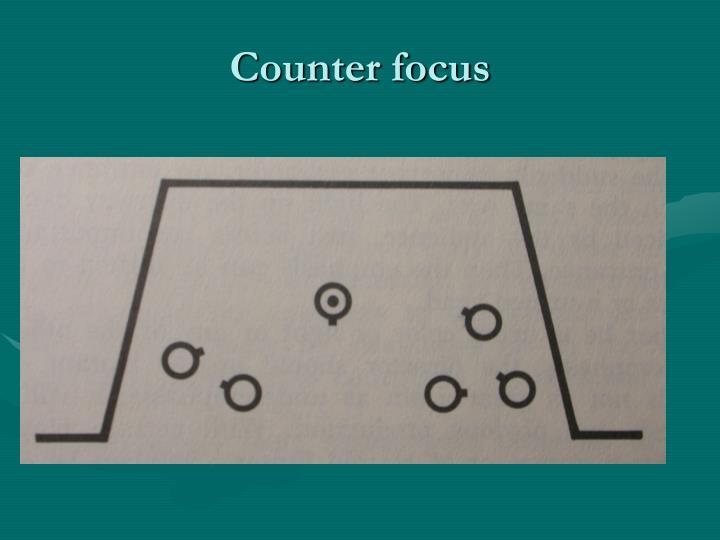 Counter focus