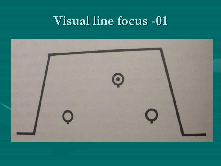 Visual line focus -01
