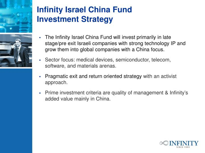 Infinity Israel China Fund