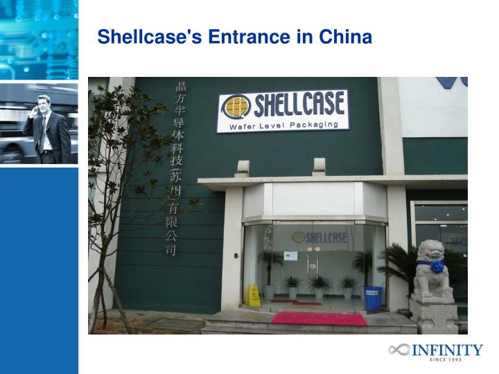Shellcase's Entrance in China