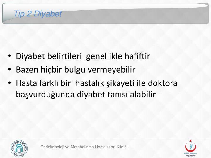 Tip 2 Diyabet