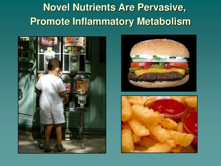 Novel Nutrients Are Pervasive,