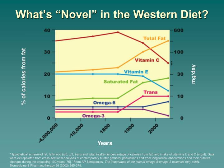 "What's ""Novel"" in the Western Diet?"