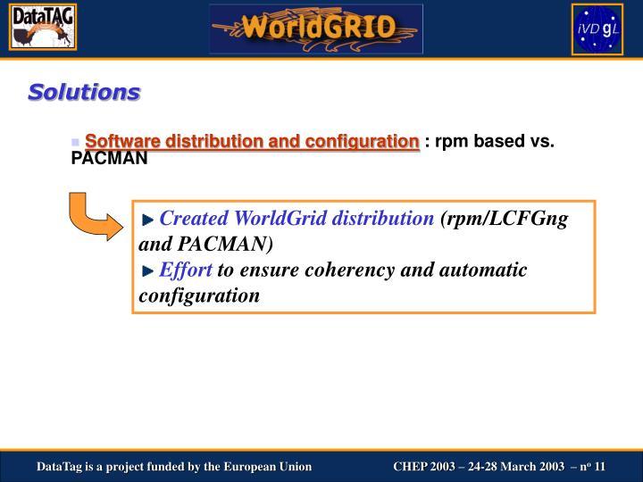 Created WorldGrid distribution