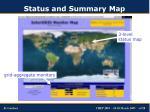 status and summary map