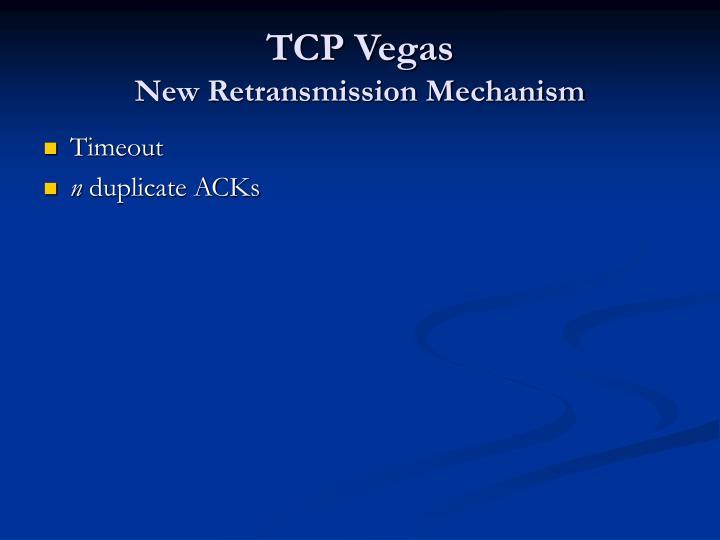 TCP Vegas