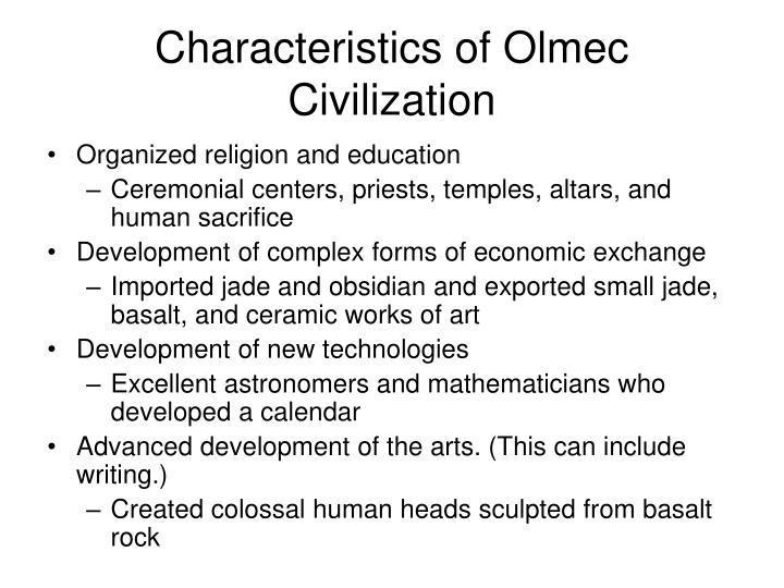 Common characteristics of civilization Custom paper Writing Service ...
