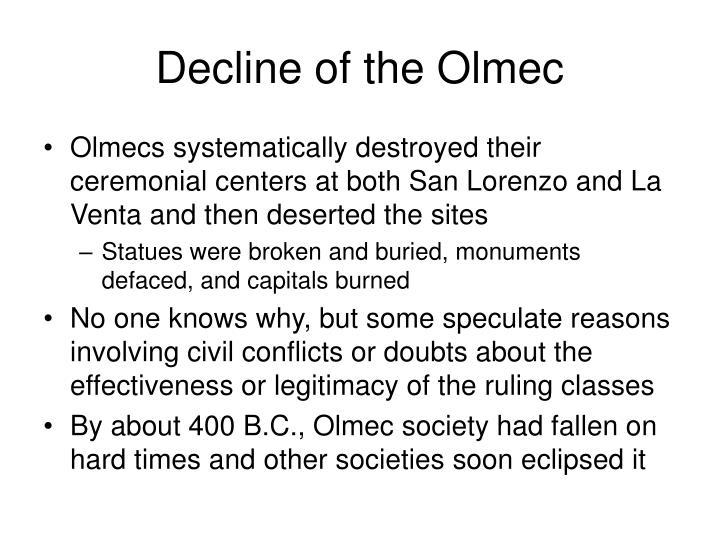 Decline of the Olmec