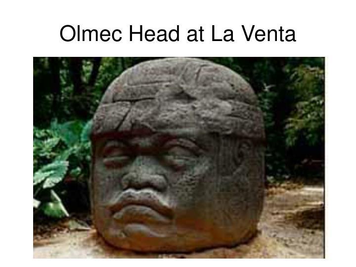 Olmec Head at La Venta